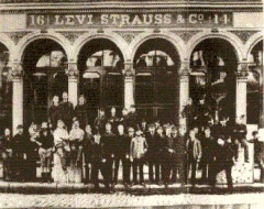 Levi Strauss & Co. offices before 1906
